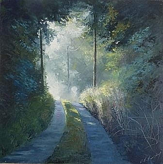 The road home, first light