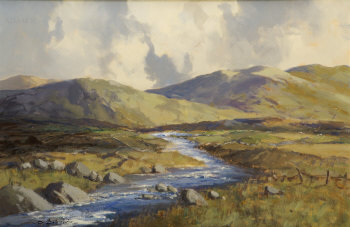 Clady River, Near Dunbeg, Co Donegal