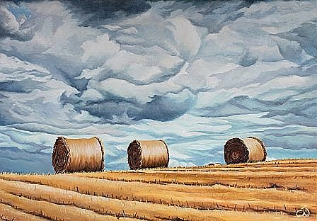 Haystacks No.6 - Three Wise Men