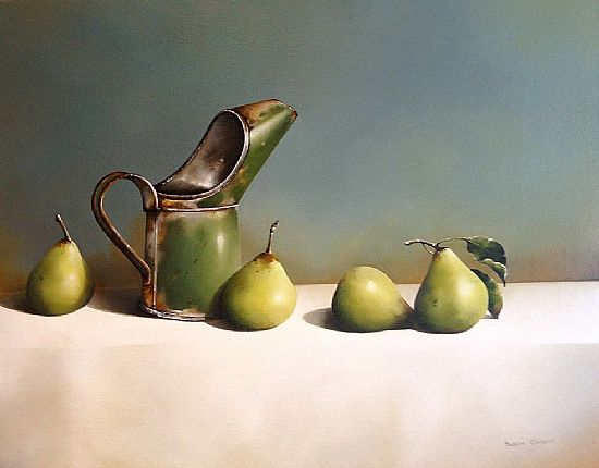 Oil Can and Pears