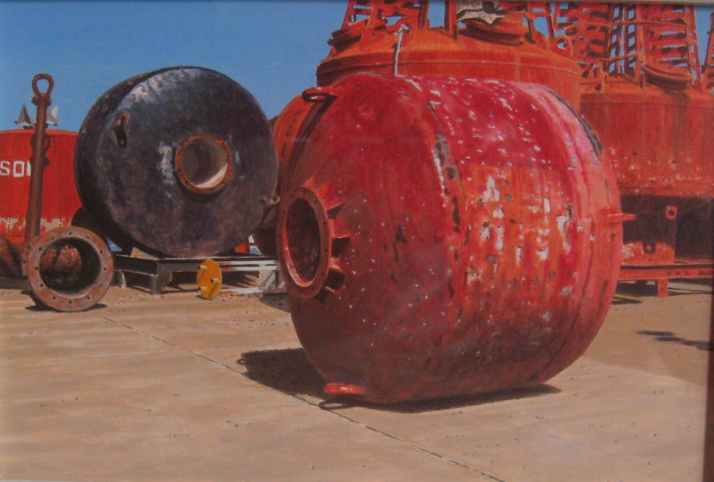 Red Roller Buoy