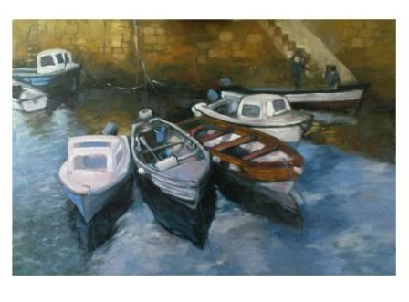Small harbour boats