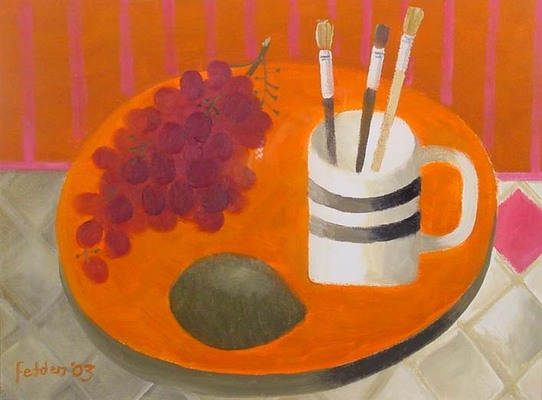 Still Life with Three Paint Brushes, 2003