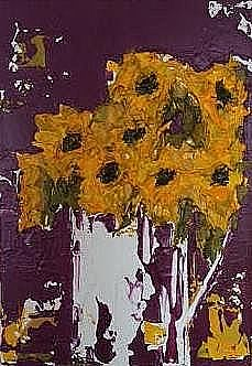 sunflowers 14 x 10