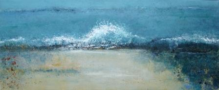 Wet sands, waves and walking, Sherkin